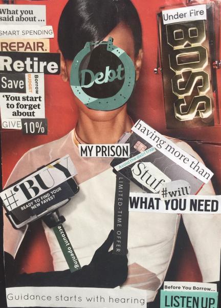 finance, illiterate, debt, suffrage, women, spending, retirement