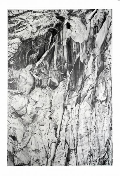 Drawing, Graphite Drawing, Yosemite