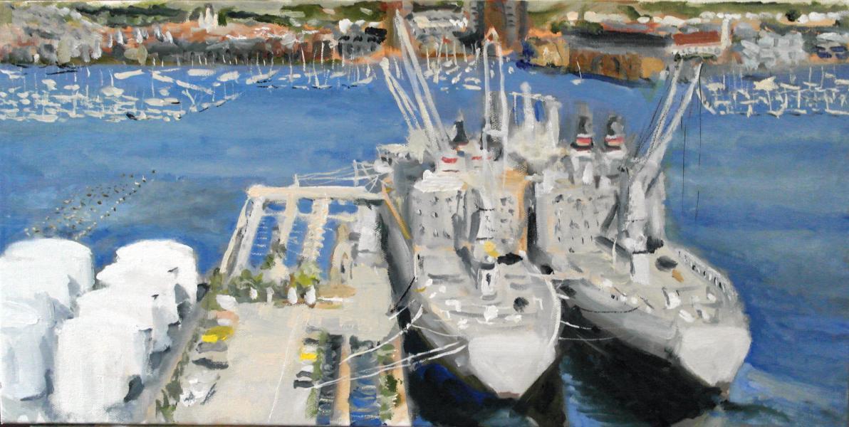 Silos Point shipyard