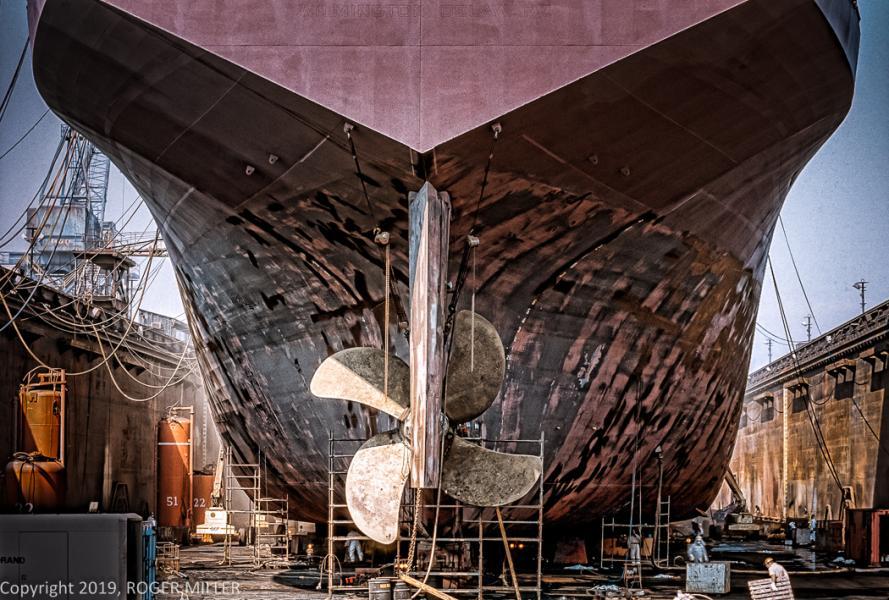 SHIP AT BETHSHIP SPARROWS POINT