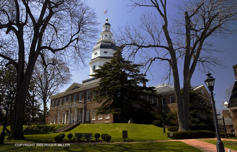 THE STATE HOUSE EARLY SPRING