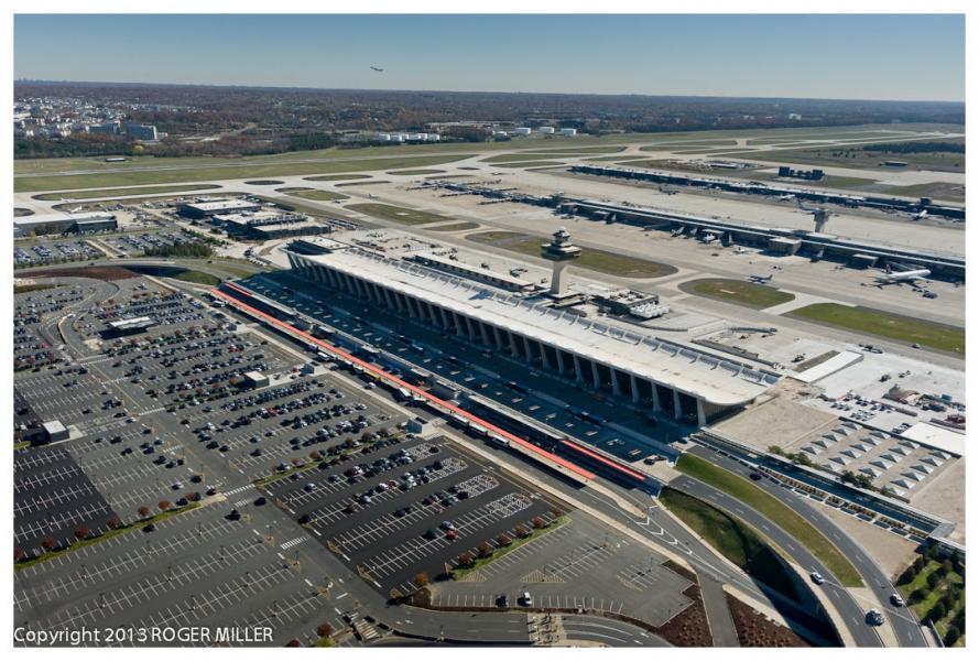 AERIAL DULLES AIRPORT