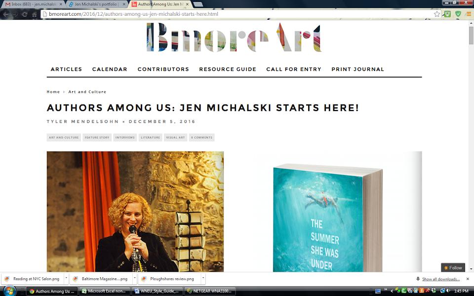 Bmore Art Interview, Starts Here!