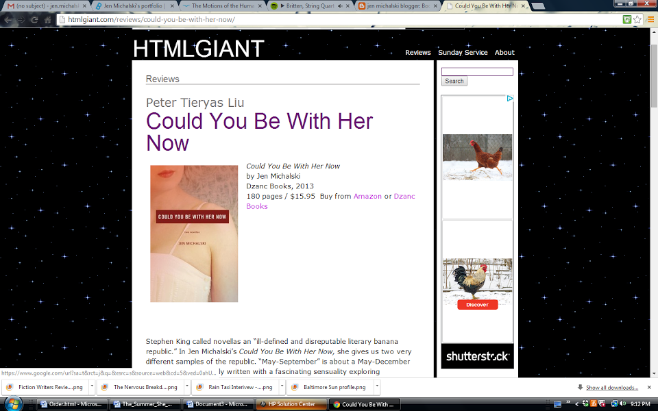 Could You Be With Her Now review, HTML Giant