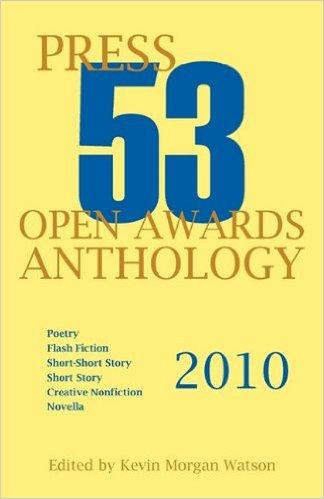 Winner, Novella, Press 53 Open Awards