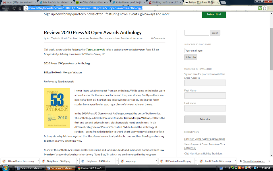 Review Press 53 Open Awards