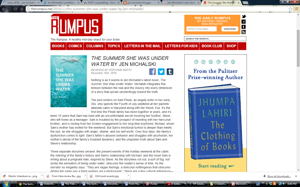 Review from The Rumpus
