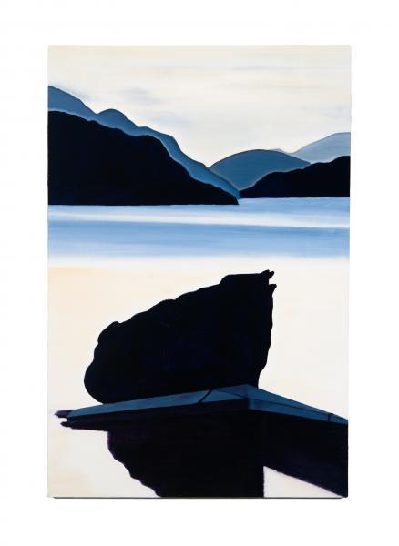 Umbagog Lake NH, 2019, oil on canvas, 20x30