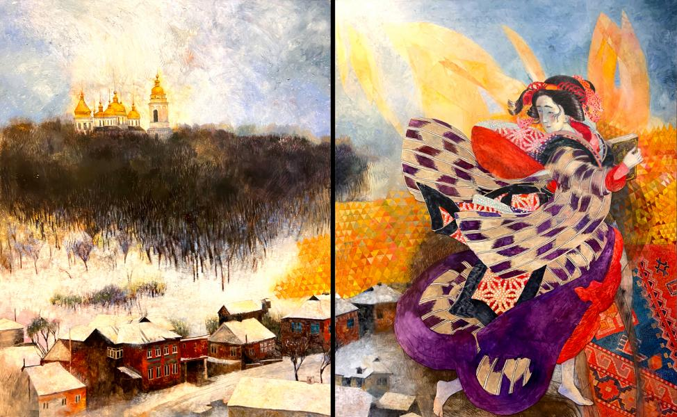Book of Dreams (diptych)