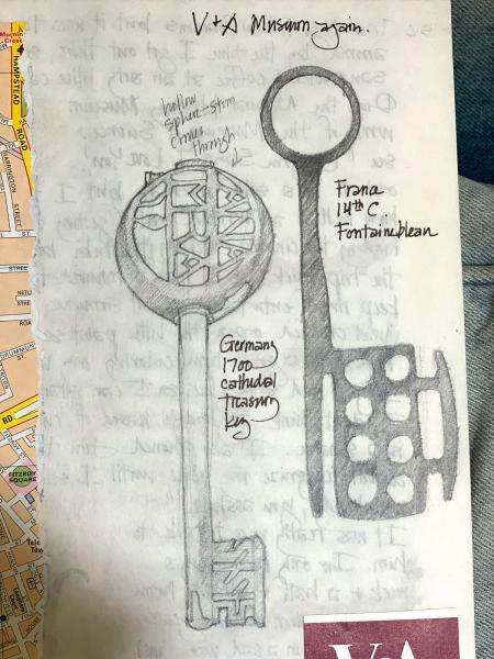 Keys, V&A, London