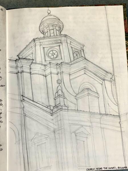 Church, Bologna, Italy