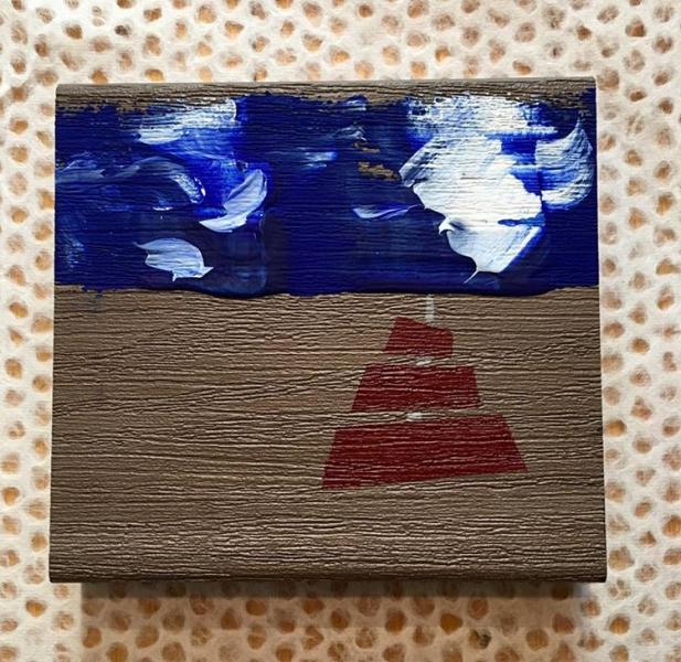 PVC, abstract, minimalism, expressionism, ocean, sailing, repurposing, recycling