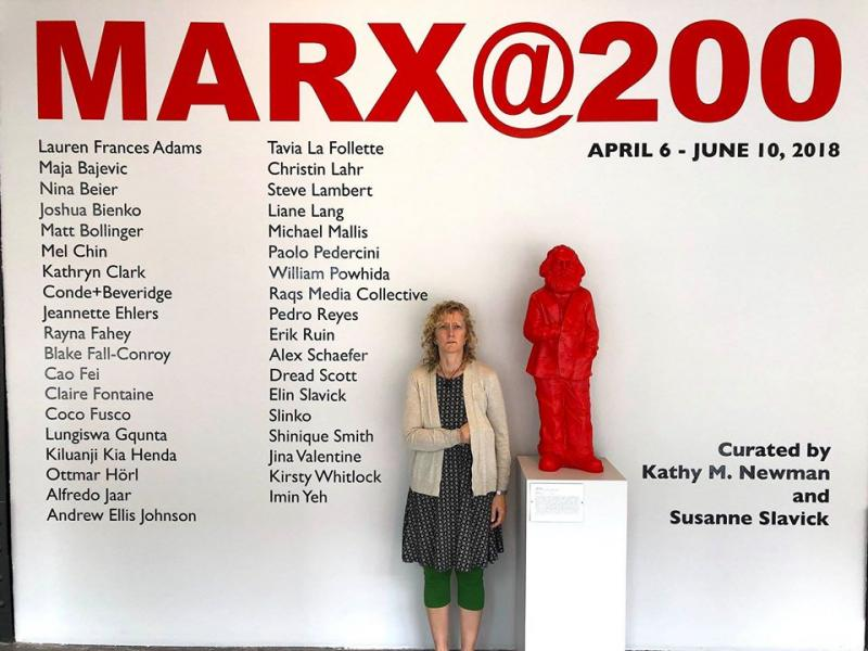 standing with Marx @ 200