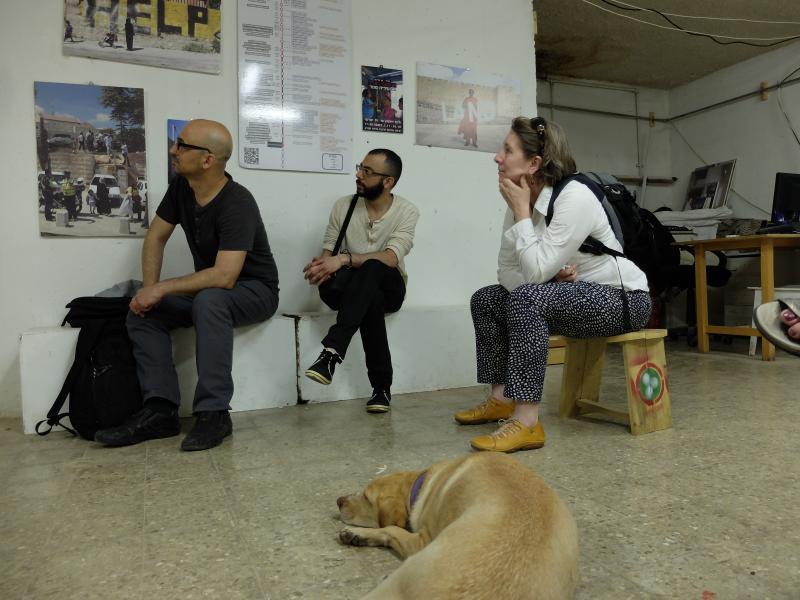 Israel artist talk