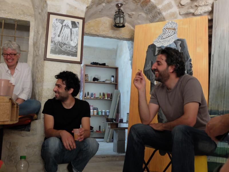 Palestine artist talk