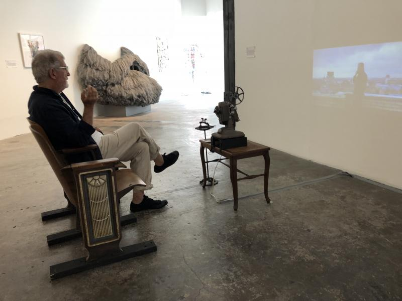 Viewing Smoking Marx at the gallery home theatre