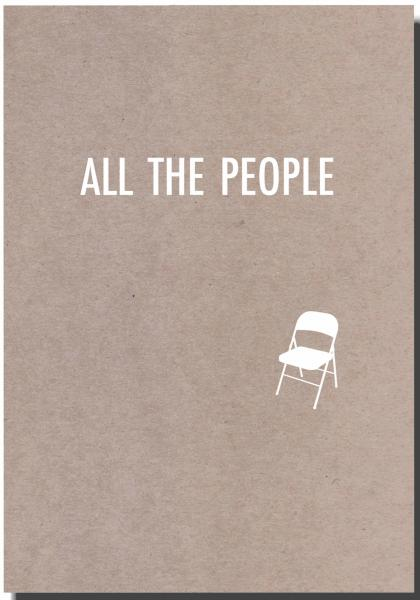 ALL THE PEOPLE, cover