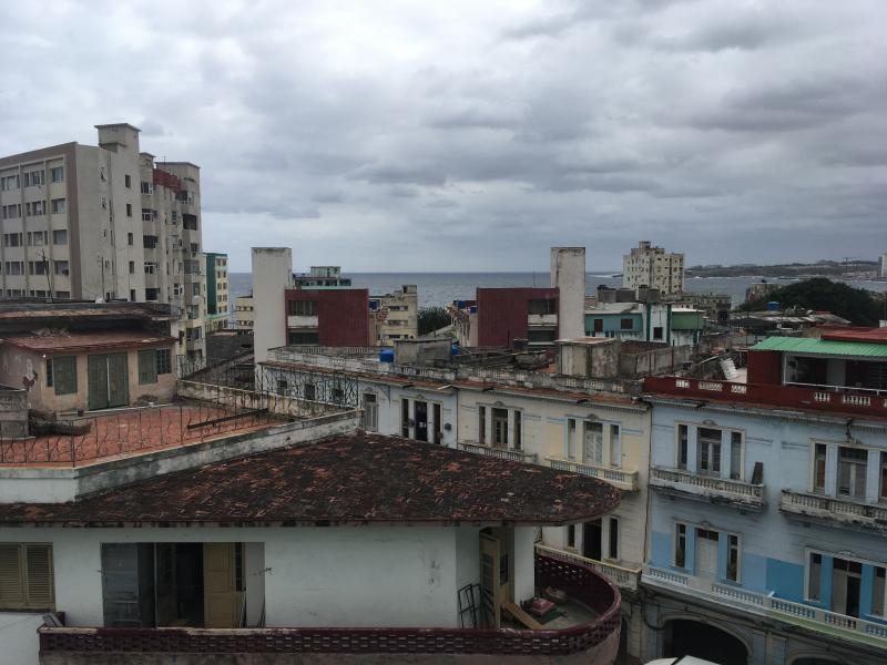 a photograph of the city of Havana, Cuba taken by Jennifer N. Shannon on the roof of an apartment.