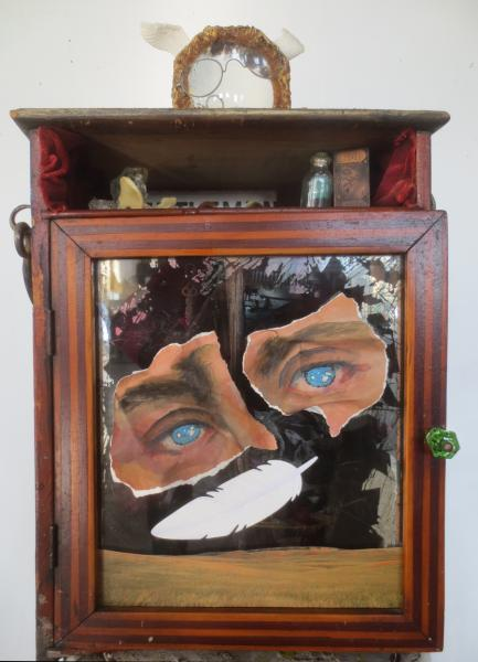 sculpture, found object, assemblage, mixed media