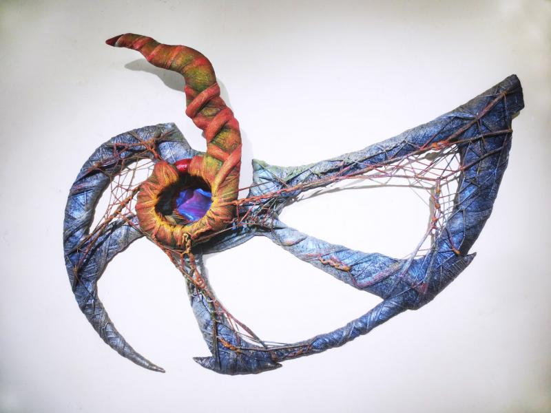 sculpture, mixed media