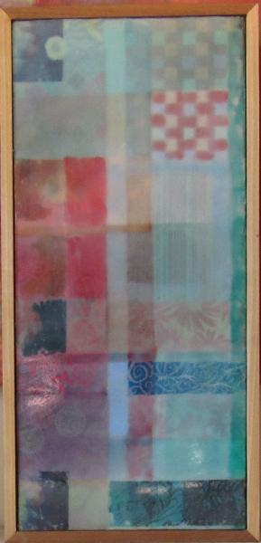 encaustic, abstract