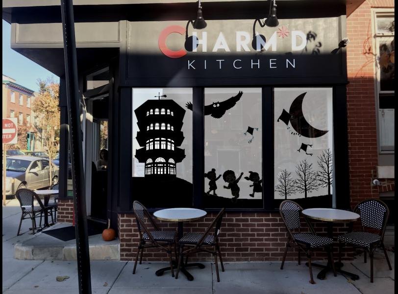Windows at Charmed Kitchen 2019