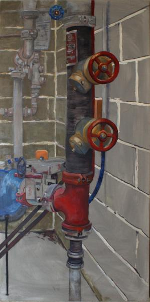 Commercial, Industrial, Mechanical, mixed media, pipe, valve, fire sprinkler system