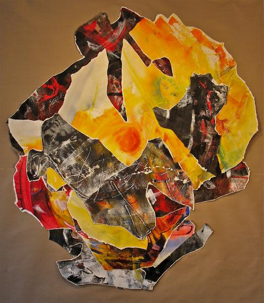 """Negative Space, 50x50"""", Maxine Taylor"""
