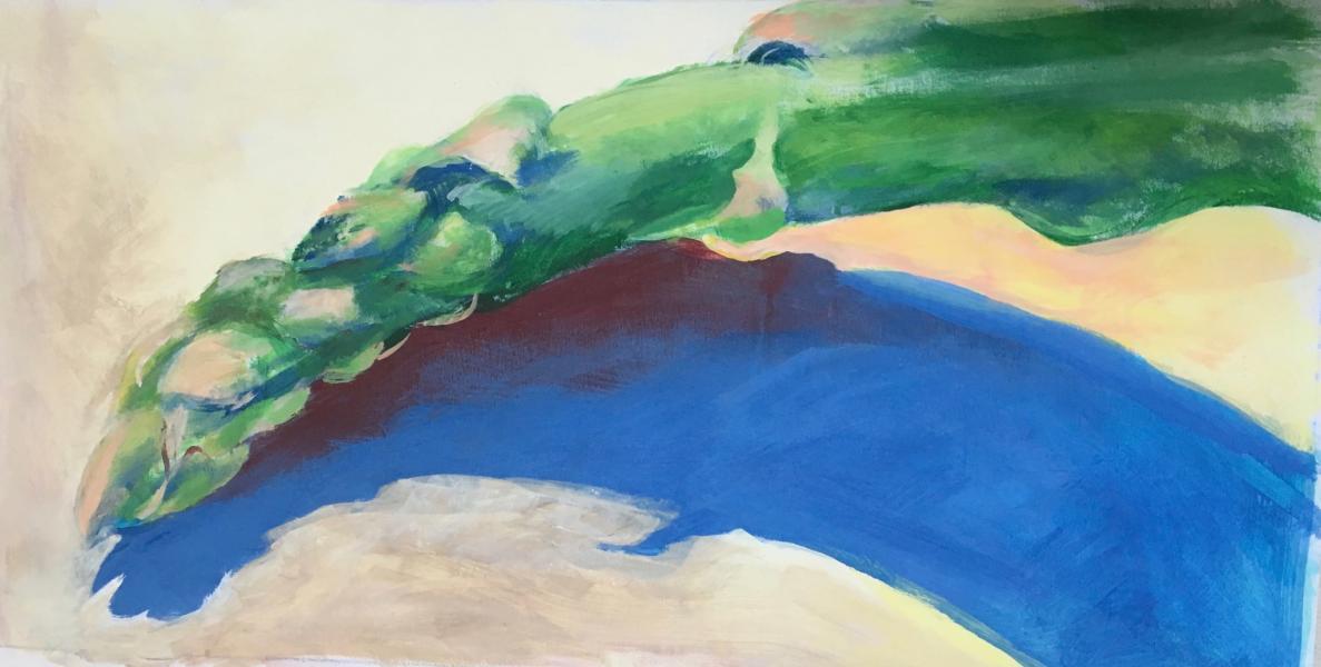 painting, asparagus
