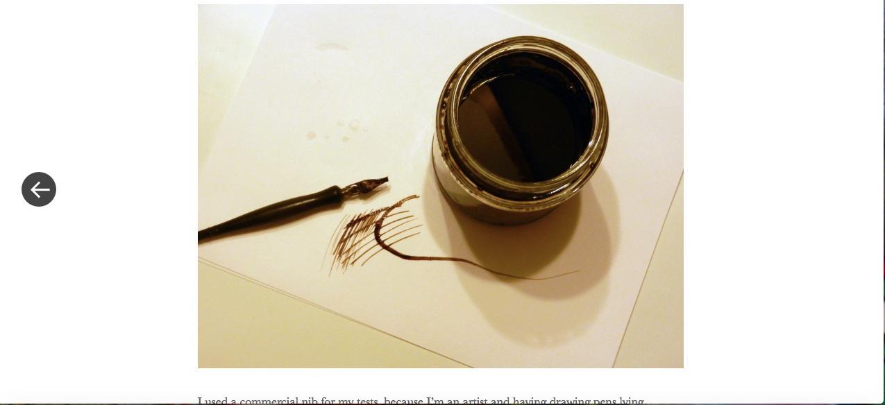 black walnut ink