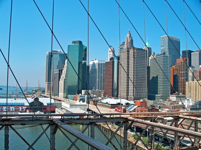 Manhattan: As Seen from the Brooklyn Bridge