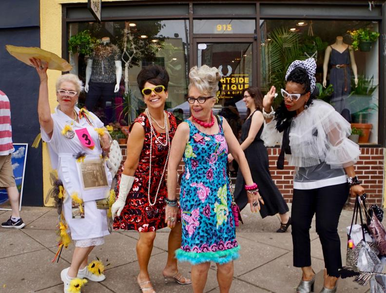 Celebrating HONfest on The Avenue