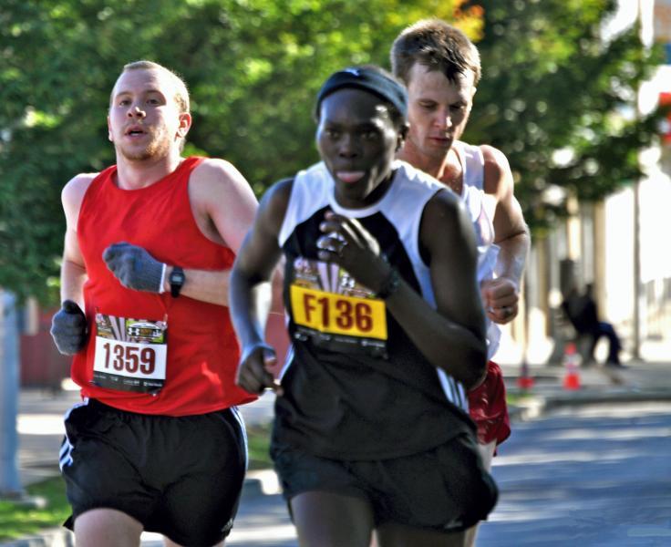 Marathon Day in Bmore