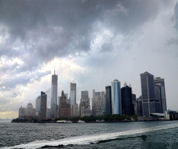 Manattan Via Staten Island Ferry
