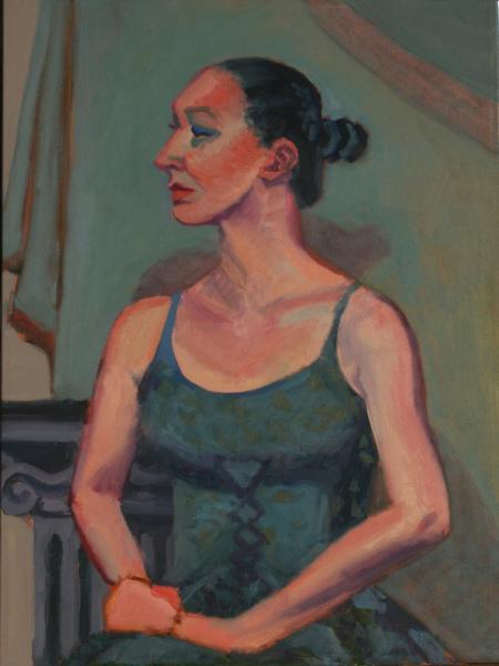 Woman in Sundress