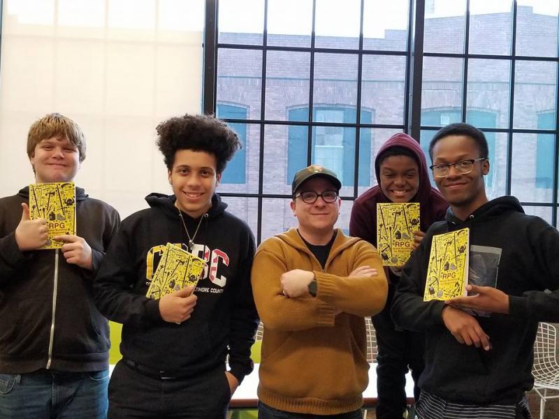 Teaching Interactive Narrative at Baltimore Design School