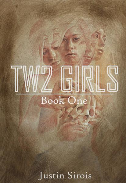 Two Girls book cover. Forthcoming from Amazon's Kindle Press.