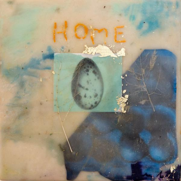 encaustic,egg,home