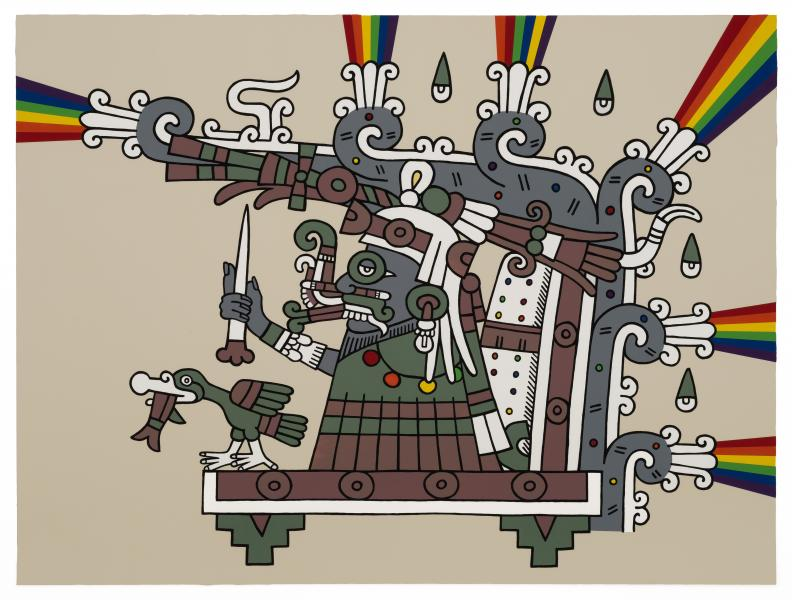 Codex Tlaloc Gaymexicanart