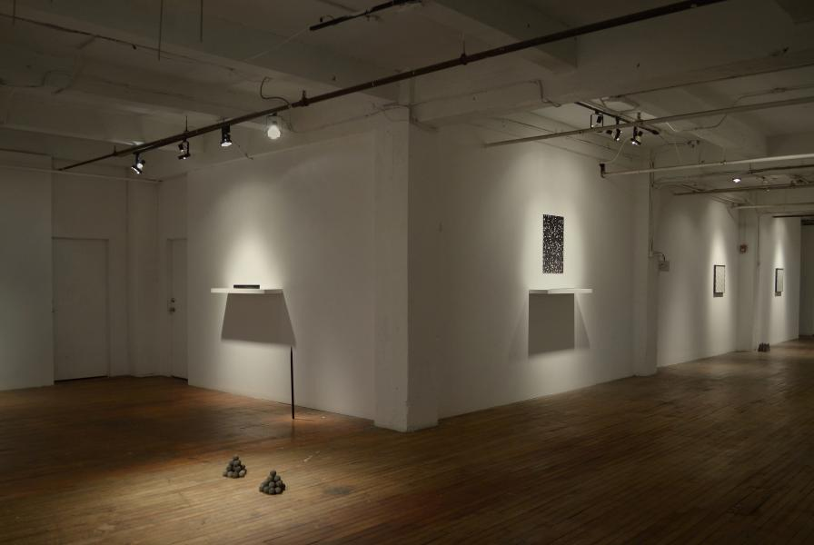 Not Now: Installation view
