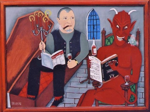 Andrei Codrescu enjoys an evening with the Devil