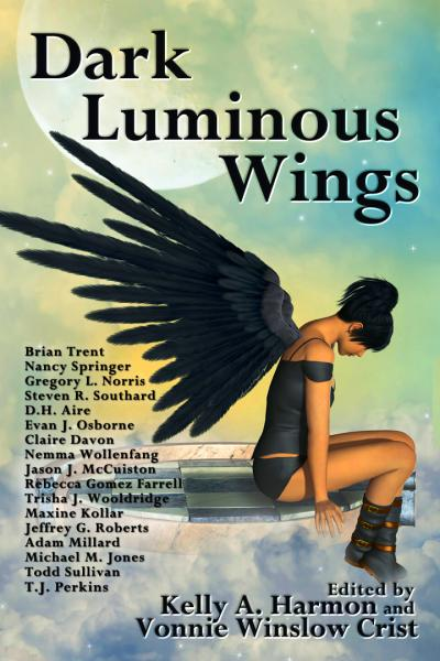 Cover of Dark Luminous Wings.
