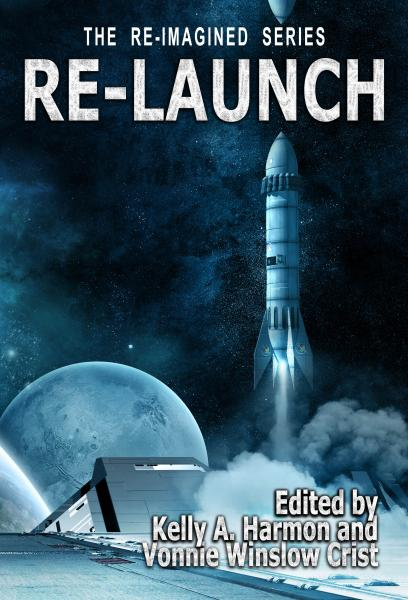 Cover of the anthology Re-Launch.