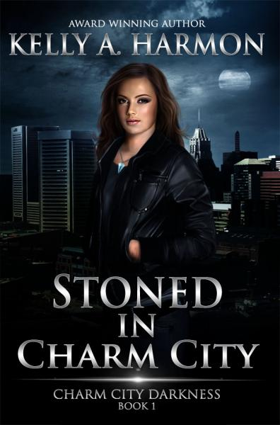 "Cover of the novel ""Stoned in Charm City"" by Kelly A. Harmon"