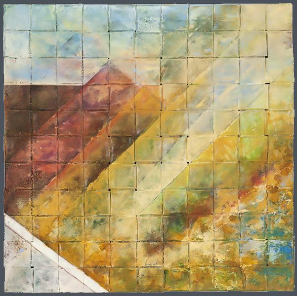 #copper, #woven metal, #woven copper, #recycling, # environmental art, #tea bowl, #basket, #baskets, #woven copper baskets, #woven metal baskets, #acadia, #mountain