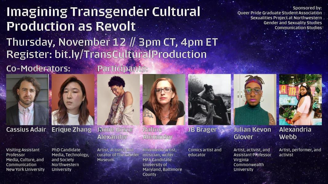 Promotion for Imagining Transgender Cultural Production as Revolt
