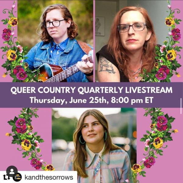Promotion for Queer Country Quarterly