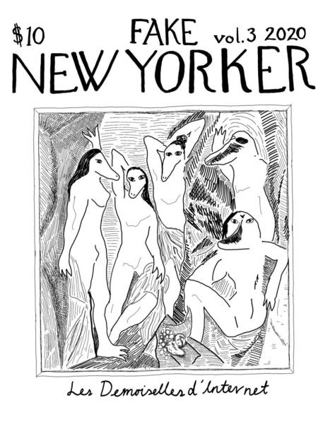 Cover art for Carrie Rennolds' Fake New Yorker Vol. 3
