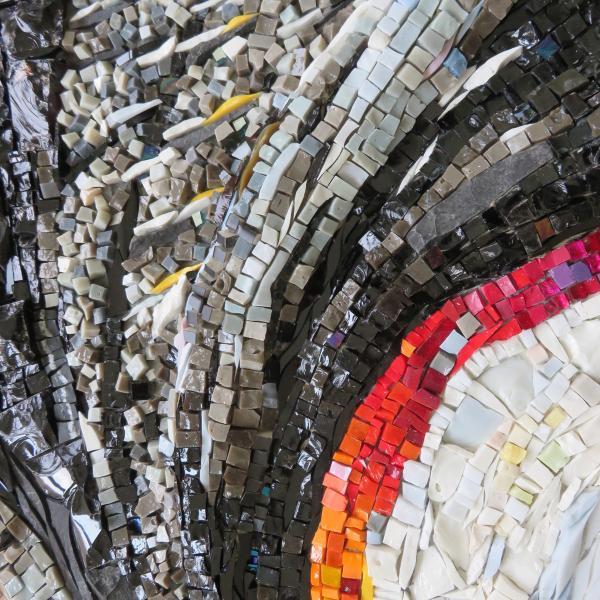 mosaic art by Yulia Hanansen, abstract
