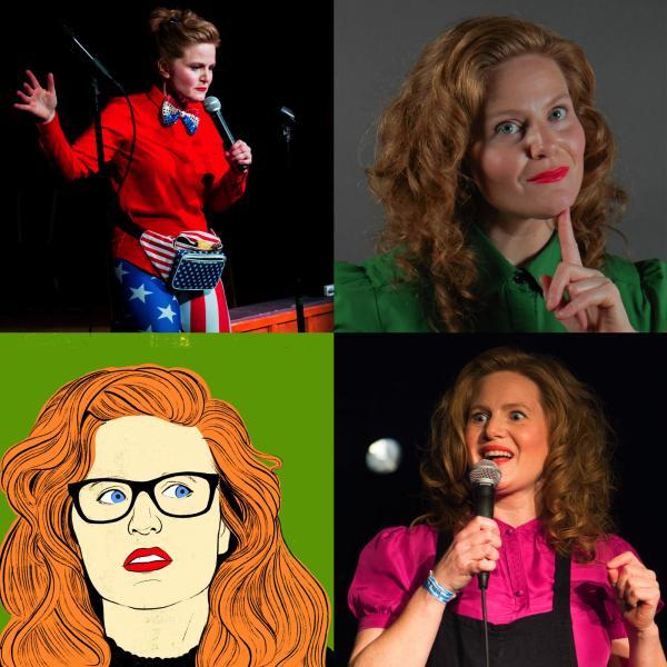 Comedian Christine Ferrera
